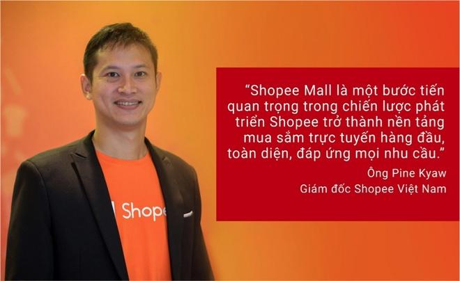 Shopee chinh thuc ra mat Shopee Mall tu ngay 10/10 hinh anh