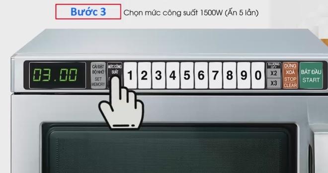 Sharp R-7500- VN: Lo vi song cong suat 1.900W, ham nong do an nhanh hinh anh 2