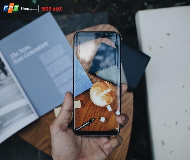 FPT Shop giam den 3 trieu dong cho bo doi Galaxy S8, S8+ hinh anh