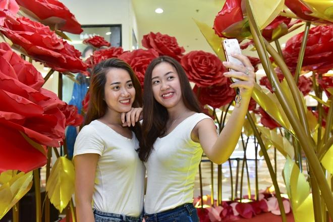 Phai dep toa sang voi con duong hoa hong va kim cuong hinh anh