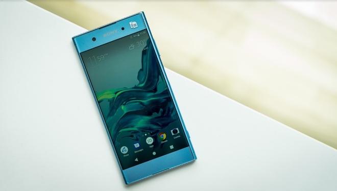 Xperia XA1 Plus: Di dong tam trung, man hinh lon khac biet cua Sony hinh anh