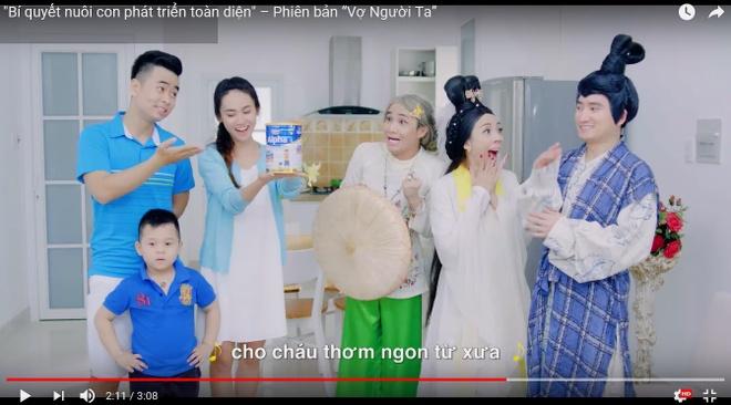 Quang cao Vinamilk dan dau bang xep hang quang cao Youtube chau A TBD hinh anh 1