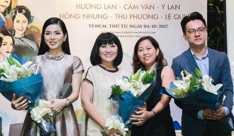 Cac the he ca si Viet hoi ngo trong dem nhac 'The master of symphony' hinh anh