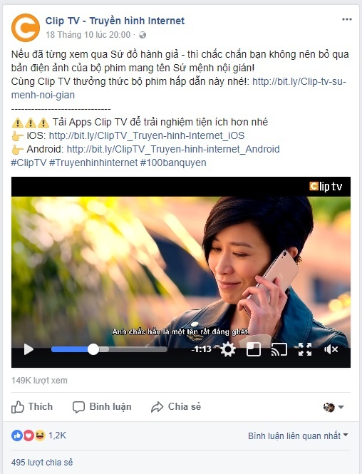 Clip TV anh 1
