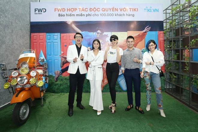 FWD hop tac tang san pham bao hiem cho 100.000 khach hang Tiki hinh anh 1