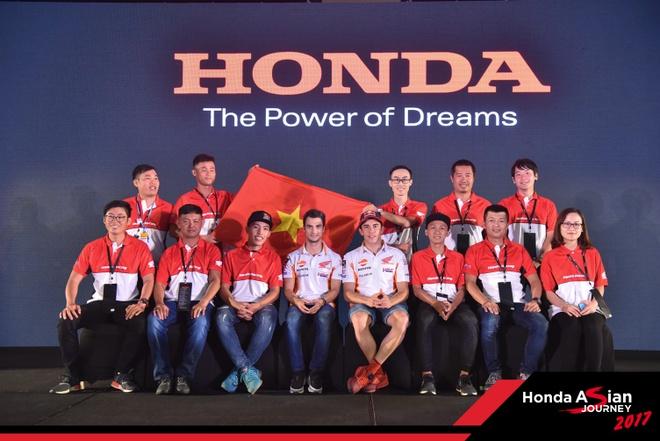 Honda Viet Nam tham gia hanh trinh 'Honda Asian Journey 2017' hinh anh 8