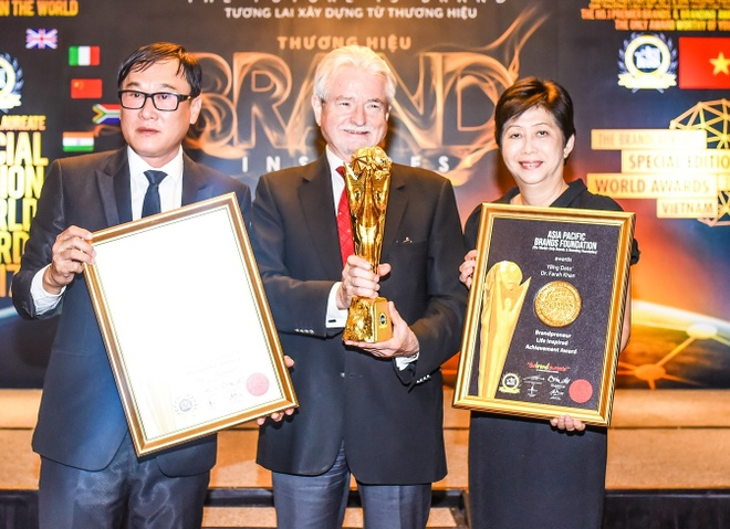 Giai Thuong hieu xuat sac the gioi 2017 sap dien ra tai Viet Nam hinh anh