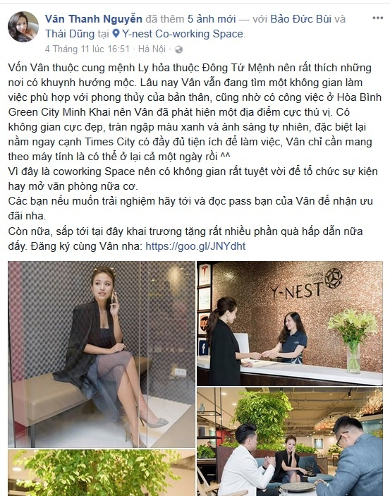 MC Van Hugo ru dong nghiep check-in khong gian lam viec sang tao hinh anh 1