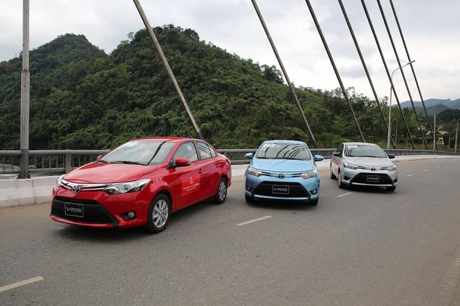 Toyota giam 24-58 trieu dong cho 3 mau xe Vios, Innova va Altis hinh anh 1