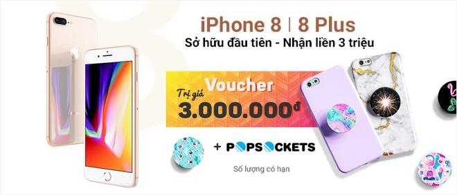 iPhone 8, 8 Plus chinh thuc mo ban tai Vstore (Vien Thong A) hinh anh 10