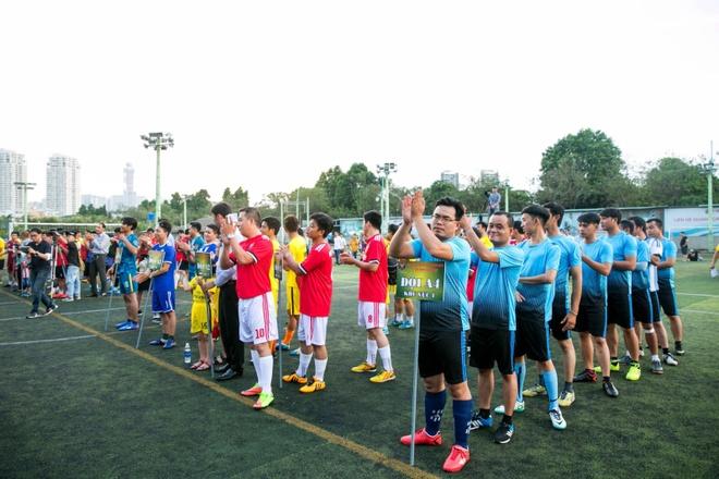 Cong ty bao ve Long Hoang to chuc giai futsal mo rong lan 3 hinh anh 1