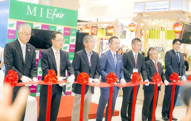 Khai mac Hoi cho tinh Mie, Nhat Ban tai AEON Mall Tan Phu hinh anh 1