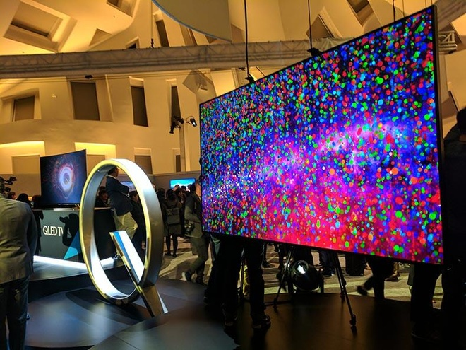 Samsung huong toi muc tieu ban 100 trieu TV QLED vao 2021 hinh anh