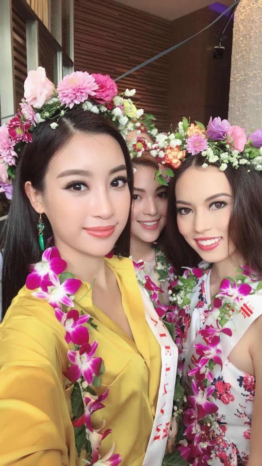 Nhung hinh anh rang ro cua Hoa hau My Linh tai Miss World 2017 hinh anh 2