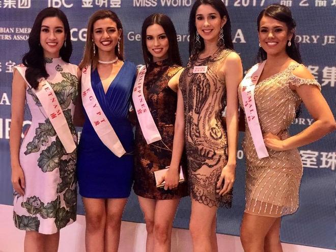 Nhung hinh anh rang ro cua Hoa hau My Linh tai Miss World 2017 hinh anh 6
