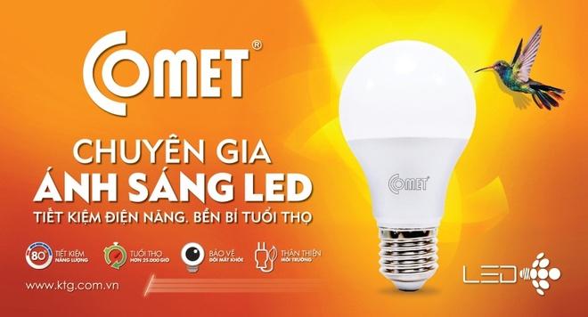 Den LED tiet kiem 80% dien nang, tuoi tho gap 5 lan den day toc hinh anh 4