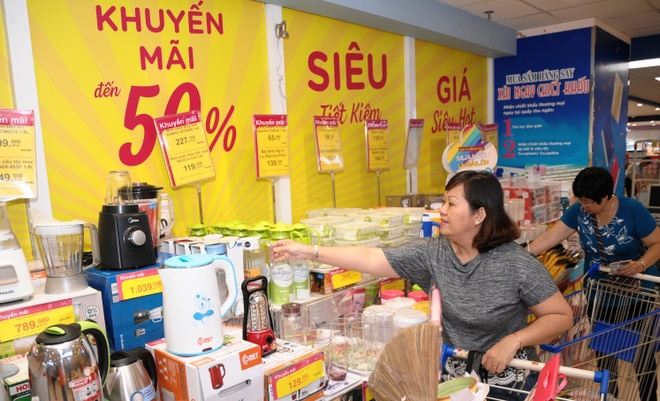 Co.opmart, Co.opXtra giam gia dong loat tren 60.000 san pham hinh anh