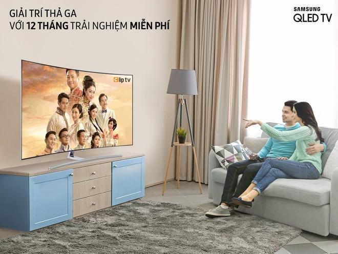 Co hoi trai nghiem mien phi Clip TV trong 12 thang tu smart TV Samsung hinh anh 1
