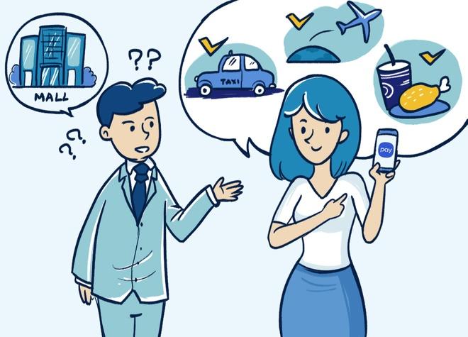 Thanh toan qua smartphone: Nhung lam tuong cua chu cua hang hinh anh