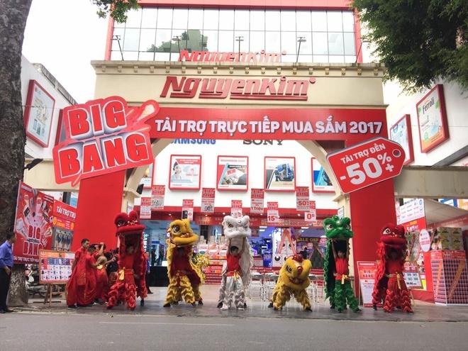 Nguyen Kim to chuc khuyen mai dien may 'Big Bang 2017' tren toan quoc hinh anh 3