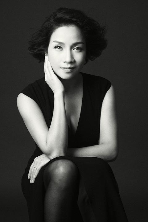 Diva My Linh lam dai su chuong trinh 'Chay vi trai tim' hinh anh 1