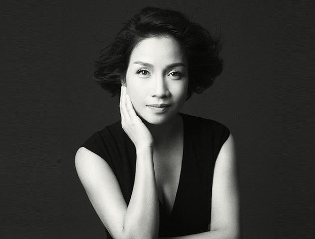 Diva My Linh lam dai su chuong trinh 'Chay vi trai tim' hinh anh
