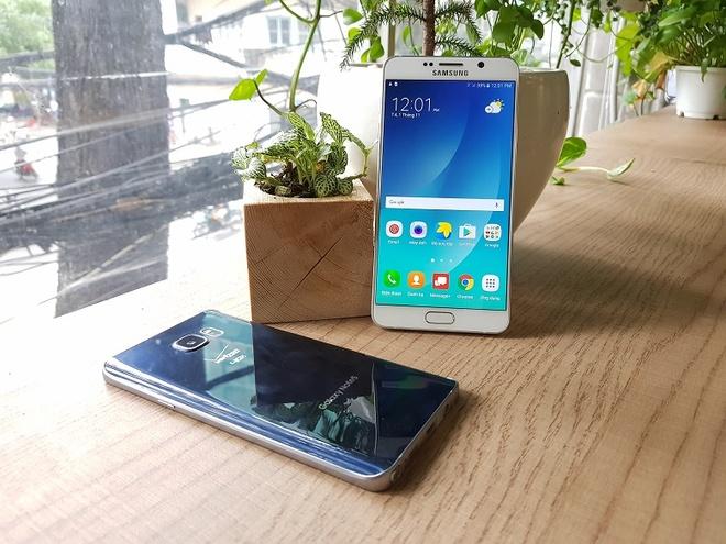 Galaxy Note 5, S7 edge xach tay ve gia 5 trieu sau 2 nam hinh anh 1