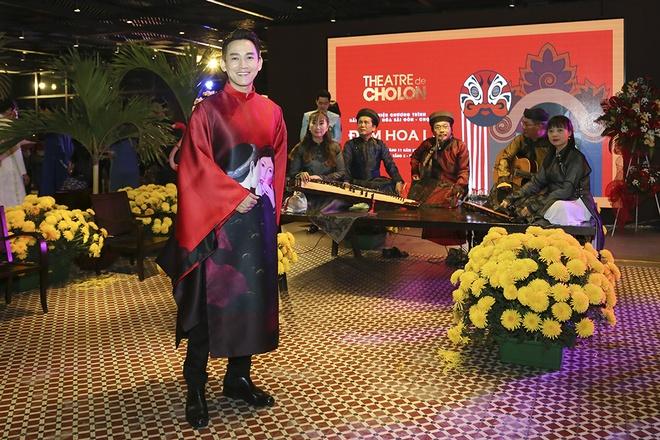Hua Vi Van, Diem My 9X cung dan sao dien ao dai trong 'Dem hoa le' hinh anh 2