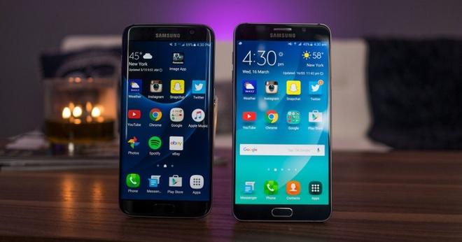 Galaxy Note 5, S7 edge xach tay ve gia 5 trieu sau 2 nam hinh anh