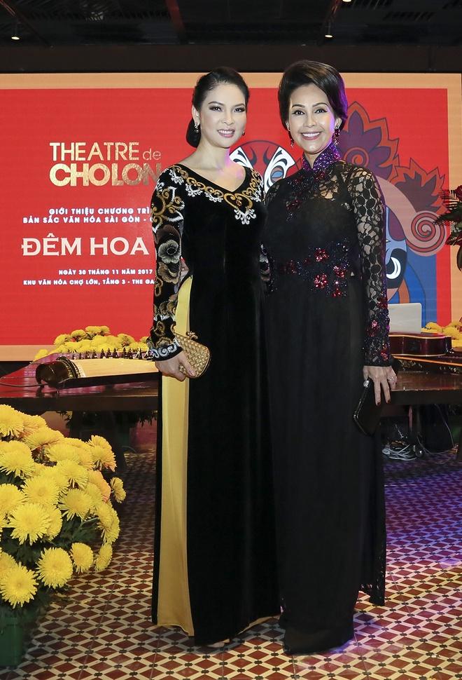 Hua Vi Van, Diem My 9X cung dan sao dien ao dai trong 'Dem hoa le' hinh anh 8