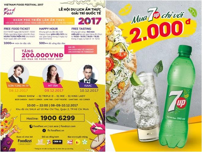 Nem mon ngon, thuong nhac hay tai 'Food Fest 2017' hinh anh 5