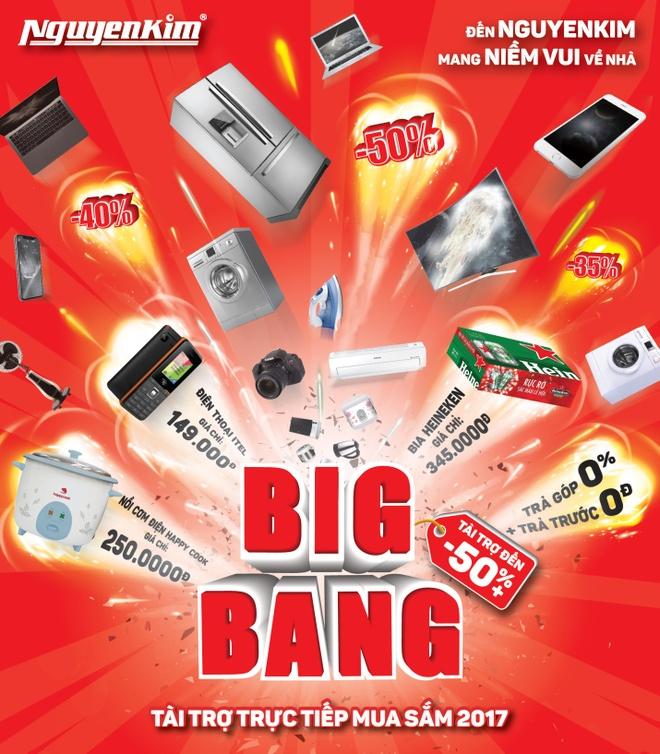 Big bang 2017: Nhan doi uu dai khi thanh toan bang the tin dung hinh anh 1