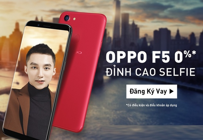 Rinh Oppo F5 chi tu 815.500 dong cung FE Credit hinh anh