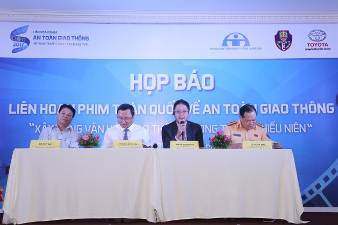 Le trao giai Lien hoan phim toan quoc ve ATGT sap dien ra hinh anh