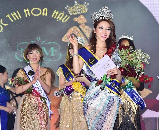 Vuong mien 'Miss Golden World Beauty Pageant' tim duoc chu nhan hinh anh