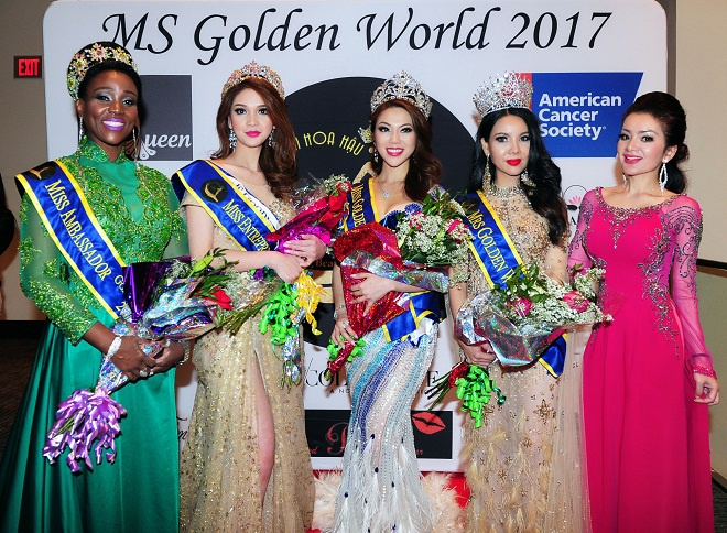 Vuong mien 'Miss Golden World Beauty Pageant' tim duoc chu nhan hinh anh 3