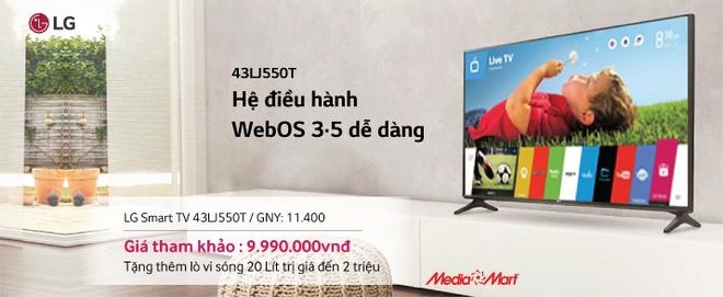 5 smart TV ban chay mua cuoi nam tai Media Mart hinh anh 1