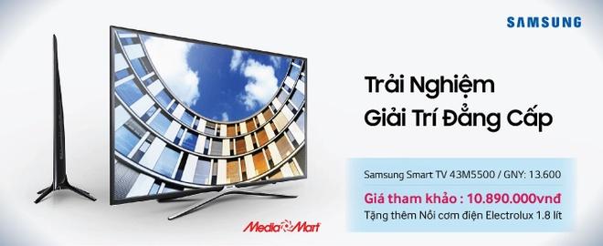 5 smart TV ban chay mua cuoi nam tai Media Mart hinh anh 4