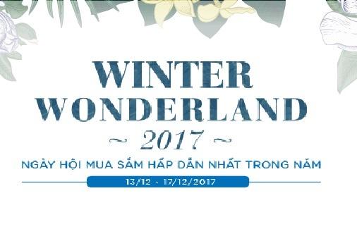 My pham, thoi trang giam den 50% tai ngay hoi 'Winter Wonderland 2017' hinh anh