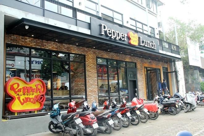 Khai truong nha hang Nhat Ban Pepper Lunch dau tien tai Ha Noi hinh anh 1