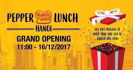 Khai truong nha hang Nhat Ban Pepper Lunch dau tien tai Ha Noi hinh anh 4