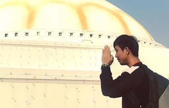 Minh Nhua tham gia doan thien nguyen huong ve nguoi dan Nepal hinh anh
