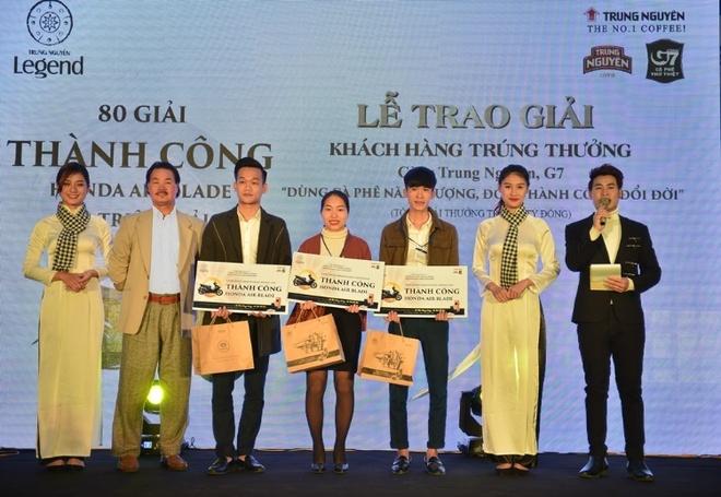Trung Nguyen tang xe hoi Toyota Vios cho khach hang may man hinh anh 1