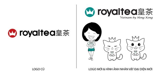 Royaltea Vietnam by Hong Kong thay doi nhan dien thuong hieu hinh anh 1
