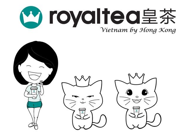 Royaltea Vietnam by Hong Kong thay doi nhan dien thuong hieu hinh anh