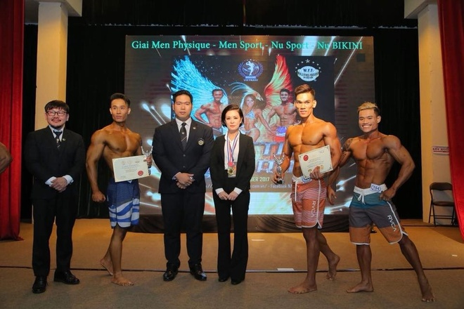Goldsport dong hanh to chuc cuoc thi the hinh NABBA/WFF 2017 hinh anh 2