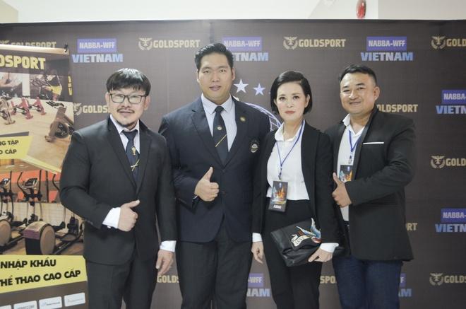 Goldsport dong hanh to chuc cuoc thi the hinh NABBA/WFF 2017 hinh anh 4