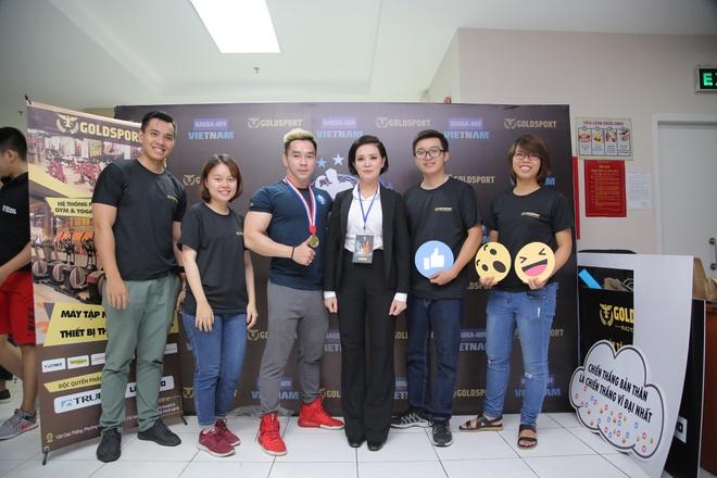 Goldsport dong hanh to chuc cuoc thi the hinh NABBA/WFF 2017 hinh anh 5