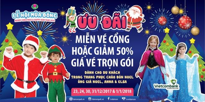 Nhung hoat dong hap dan chao Tet 2018 tai cong vien Dam Sen hinh anh 4