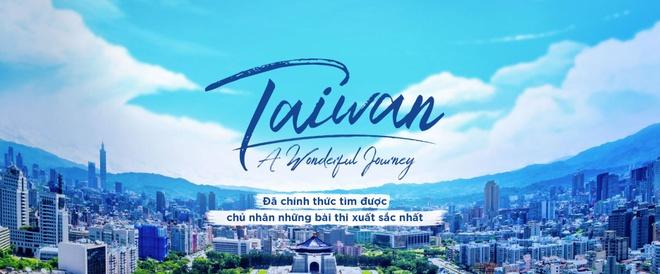 Ket qua chinh thuc cua cuoc thi 'Taiwan - A wonderful Journey' hinh anh